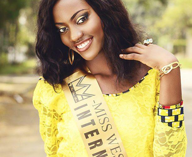Images de Florence Epée, Miss Afrique West International 2015 par le photographe camerounais Christian Sankeur