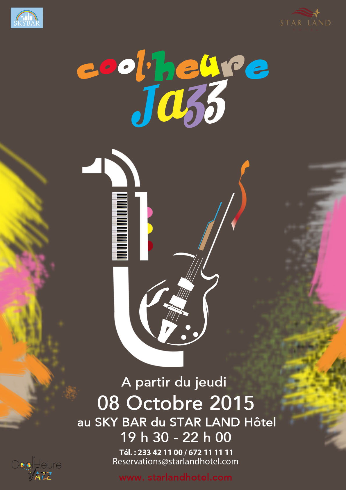 cool'heure jazz - Star Land Hotel Afterwork - Les Marches d'Elodie