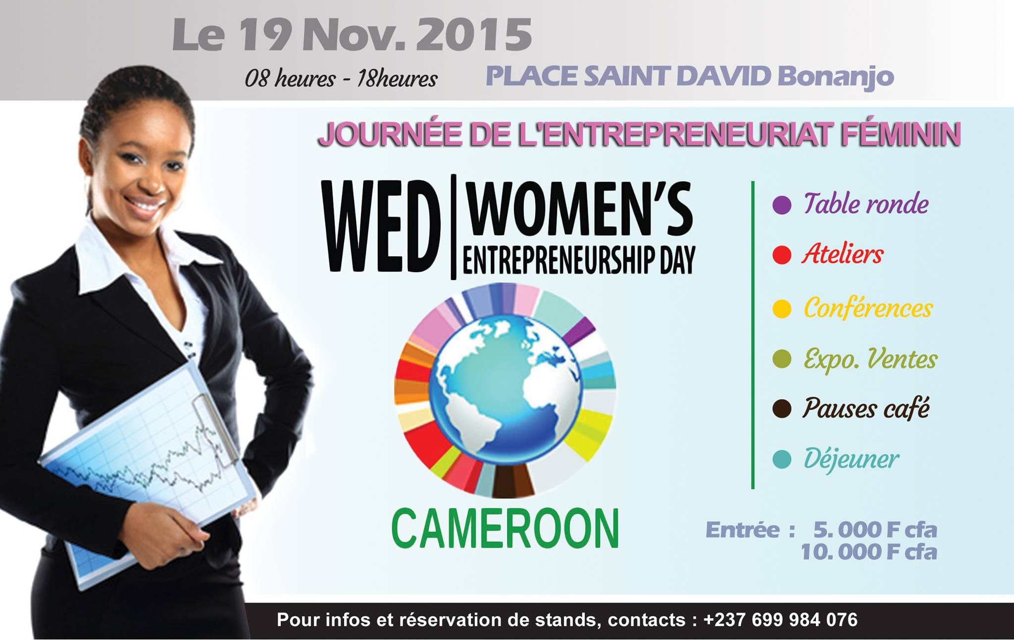 Les Marches d'Elodie - WED 2015 - Women Entrepreneurship Day