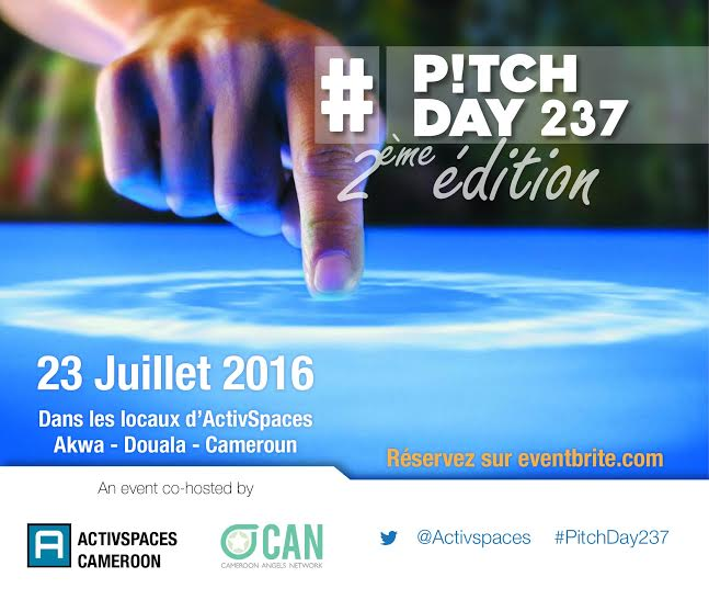 PITCH DAY 237: Start-ups from ActivSpaces incubator facing investors.