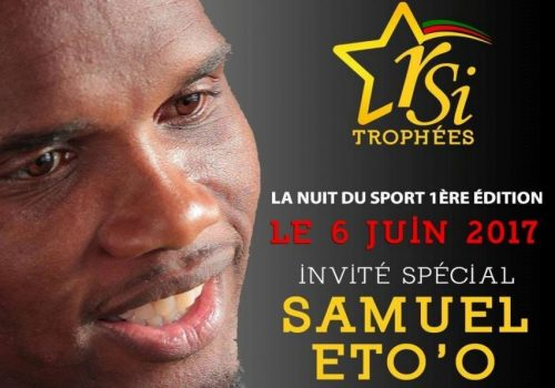 Samuel Eto'o, Special Guest of the 1st Edition of the Night of Sport (RSI Trophies)