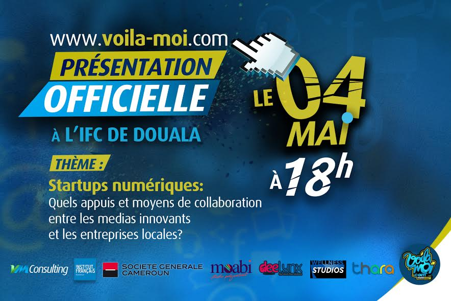 Lancement officiel de la plateforme «Voilà-Moi»: Blogging, musique et entrepreneuriat