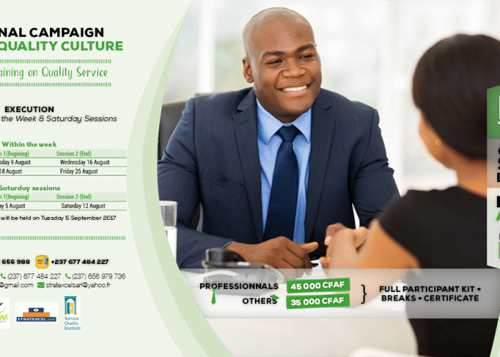 Free training and certification in Quality of Service by Casqua Academy